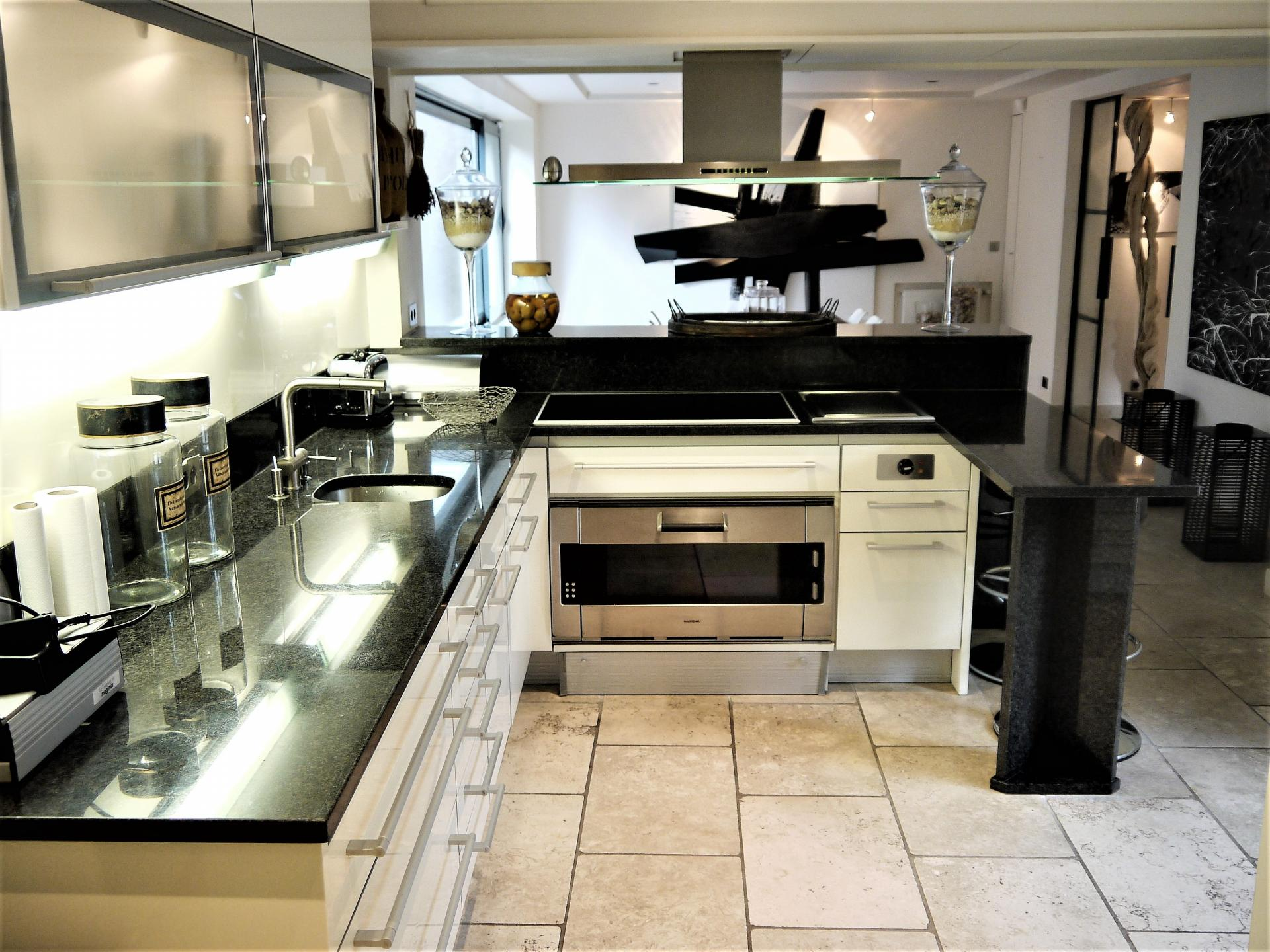 THE LOVELY OPEN KITCHEN OF VILLA THE TOWER